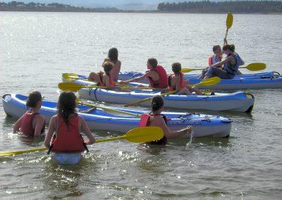 Kayak en Gabriel y Galán